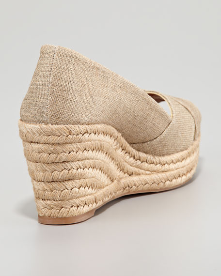 Filipa Espadrille Wedge, Gold