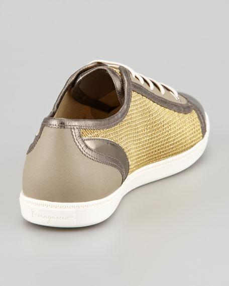 Soho Lace-Up Sneaker, Oro
