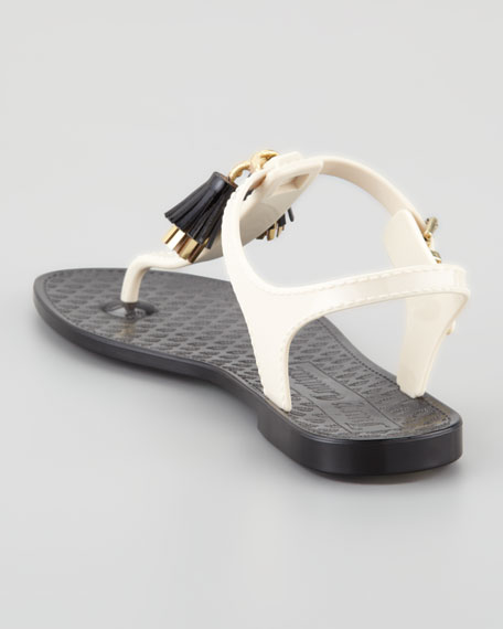 Wisp Shiny Jelly Thong Sandal