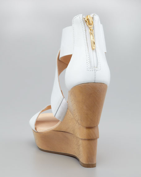 Opalista Crisscross Wedge Sandal