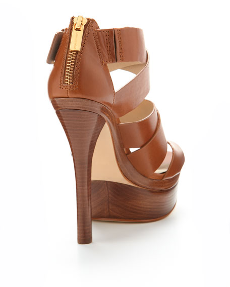 Axton Leather Platform Sandal