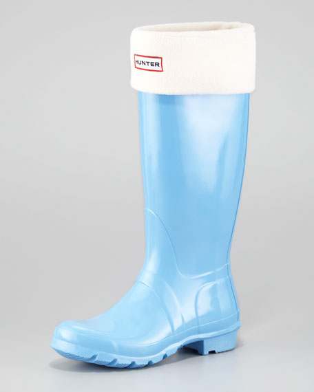 Tall Original Welly Boot, Cornflower