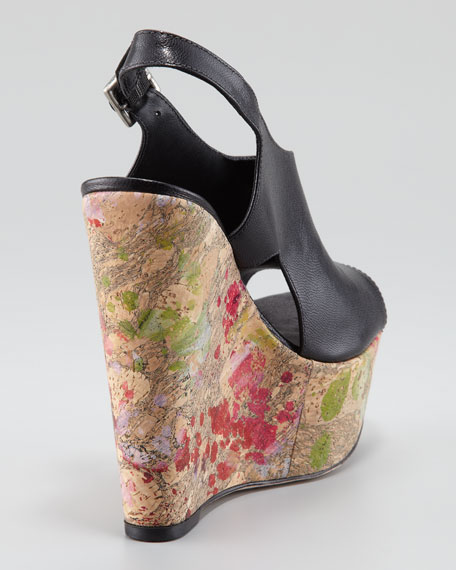 Sonia Paint Splatter Wedge