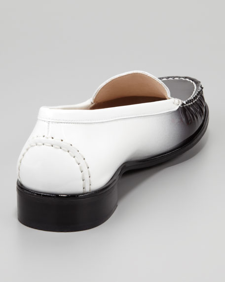 Ombre Patent-Leather Loafer