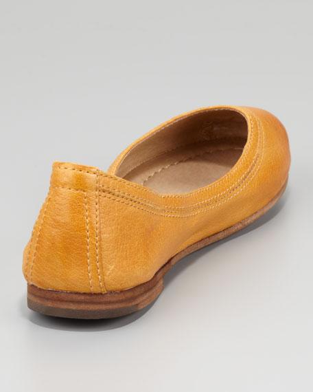 Carson Ballerina Flat, Yellow