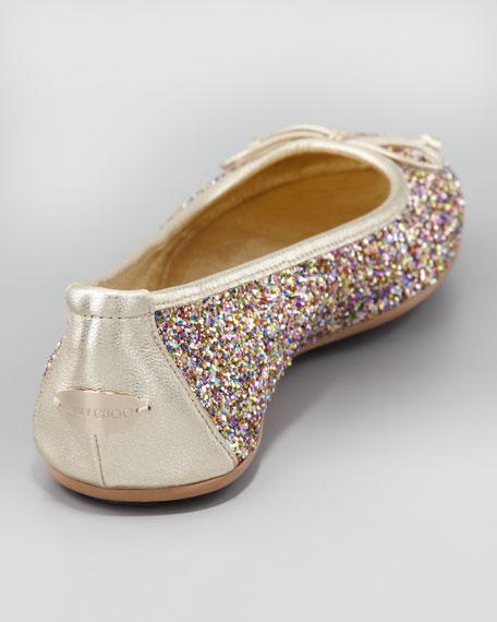 Walsh Glitter Ballerina Flat