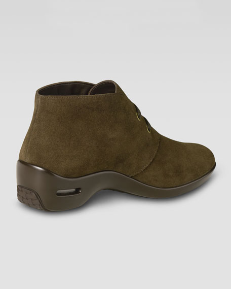 Air Reena Weatherproof Bootie, Dark Chocolate