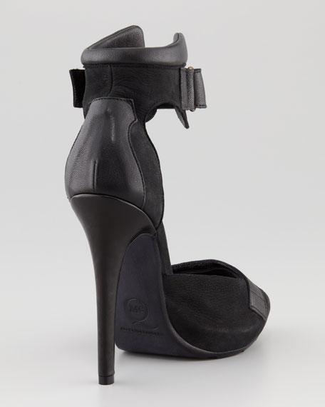 Sport-Cuff Platform Sandal
