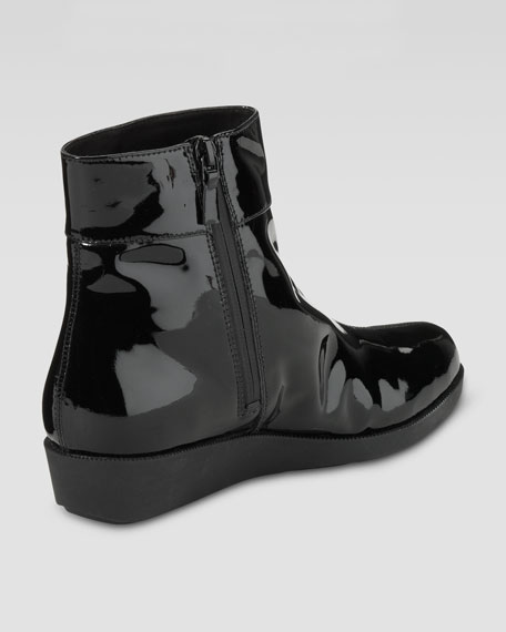 Air Tali Rain Ankle Boot, Black