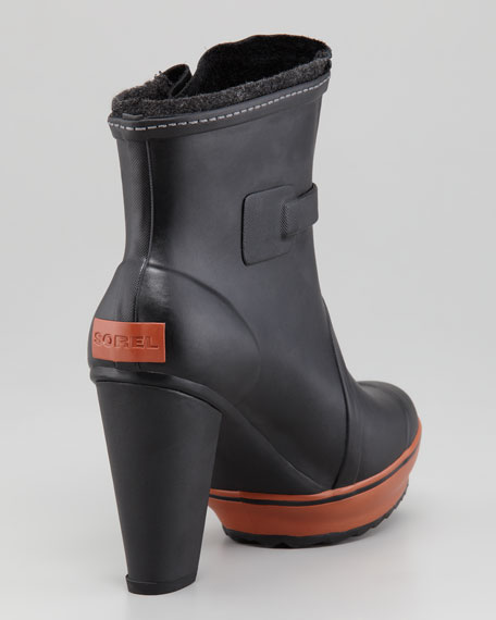 Sorel Medina High-Heel Rain Boot
