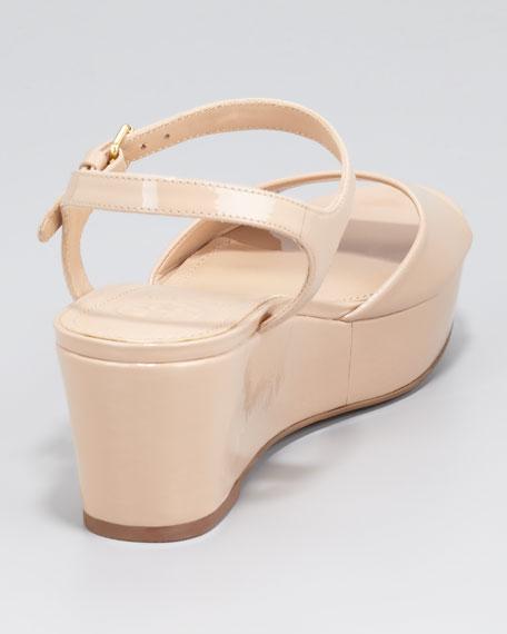 Abena Flatform Wedge Sandal, Tory Beige