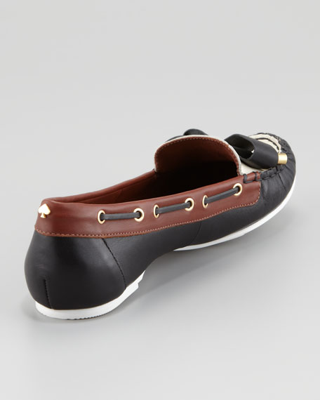 wren bow-detailed boat shoe