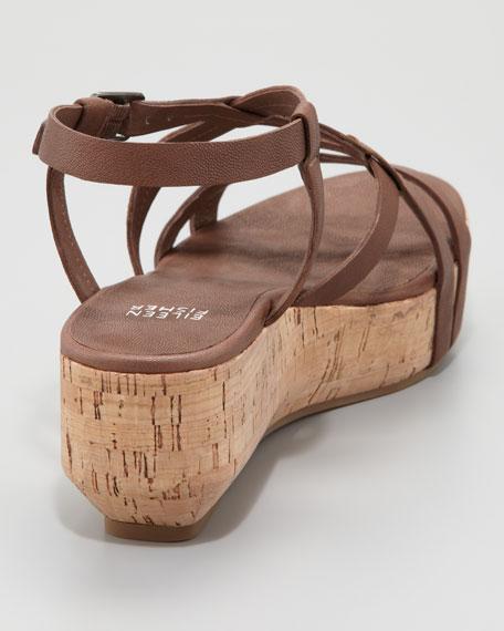 Array Cork Sandal, Cocoa Brown