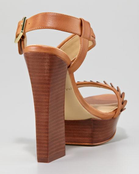 Rachel Zoe Eryn Asymmetric Sandal, Camel