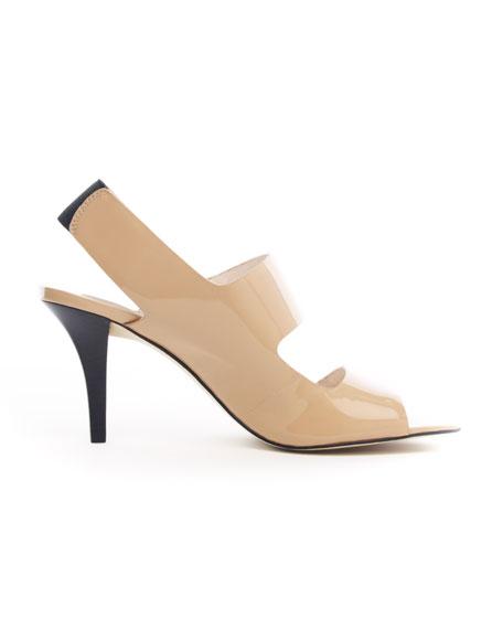 Rochelle Patent Sandal