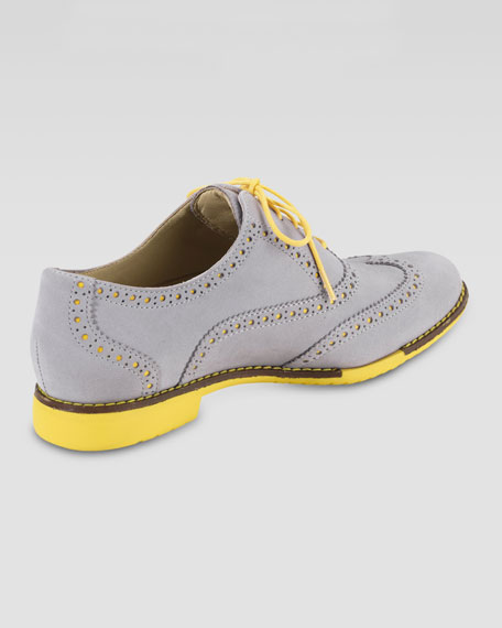 a57f4face29 Cole Haan Gramercy Nubuck Oxford