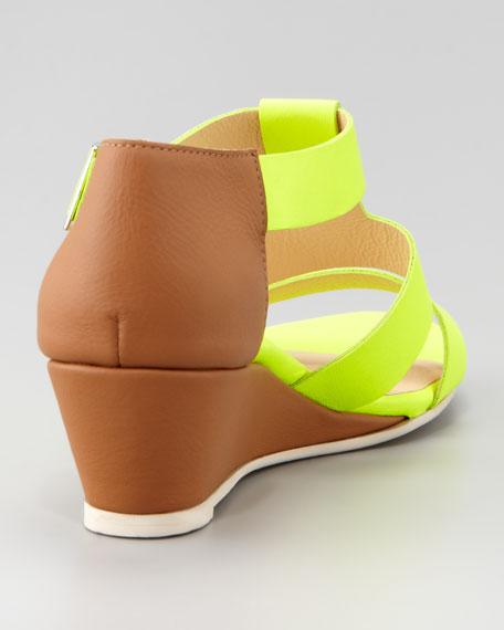 Absolute Wonder Wedge Sandal, Yellow