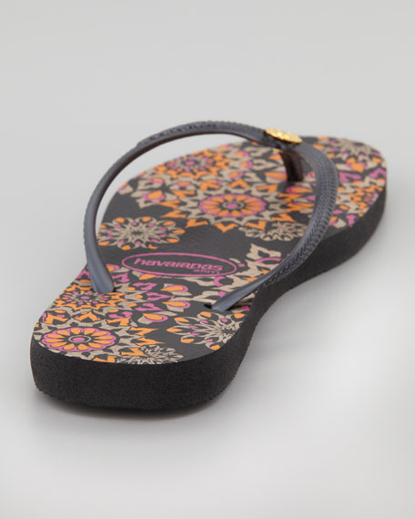 Slim Illusion Flip-Flop, Black