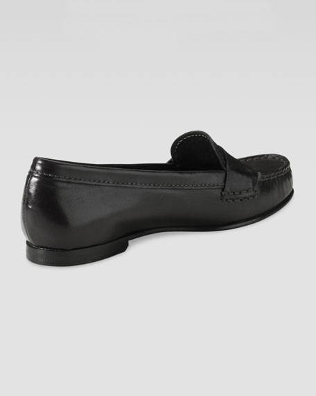Air Sloane Moccasin, Black