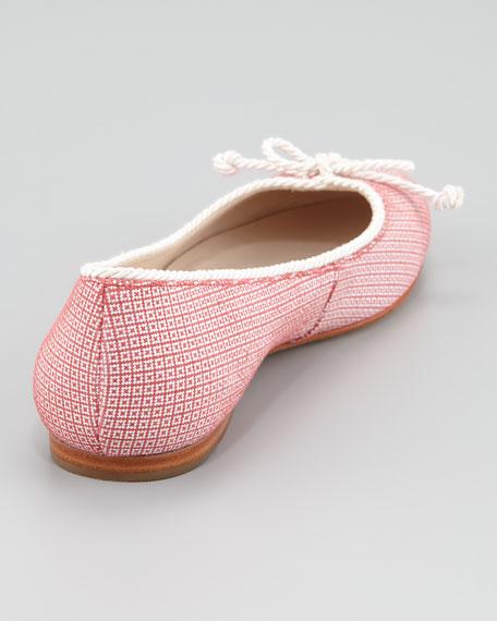 Zooey Ballerina Flat, Berry Baccio