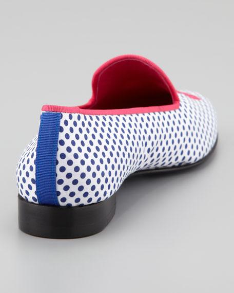 Audrey Polka-Dot Smoking Loafer