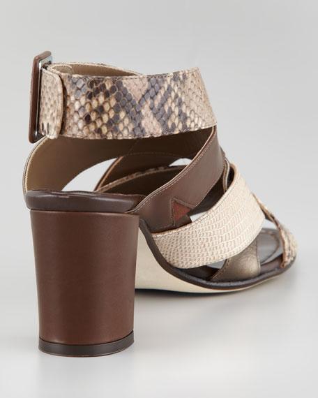 Zara Crisscross Sandal, Espresso