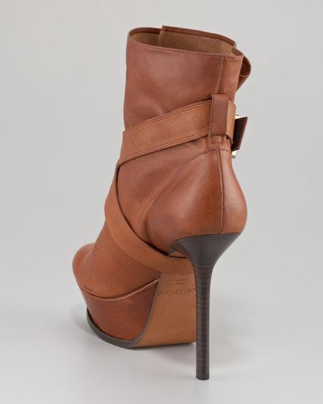 Michelle Platform Leather Boot