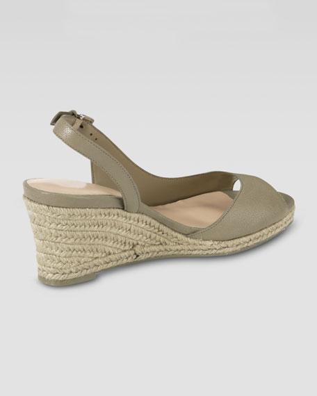 Adelaide Mid-Wedge Heel, Summer Khaki