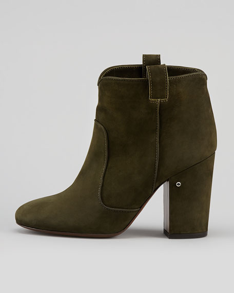 Pete Nubuck Ankle Boot, Khaki