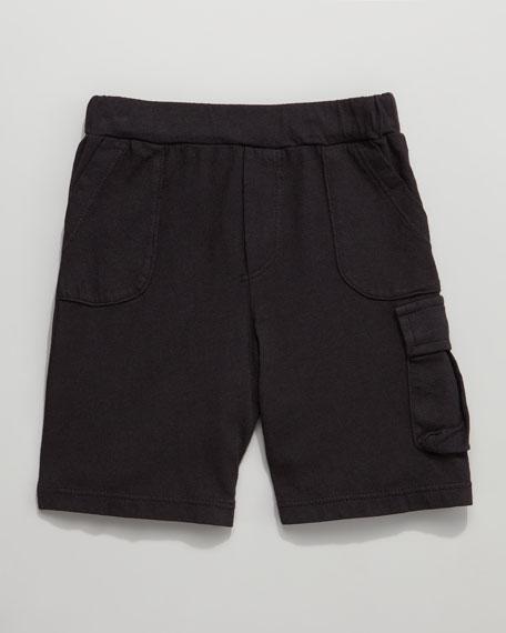 Jersey Cargo Shorts
