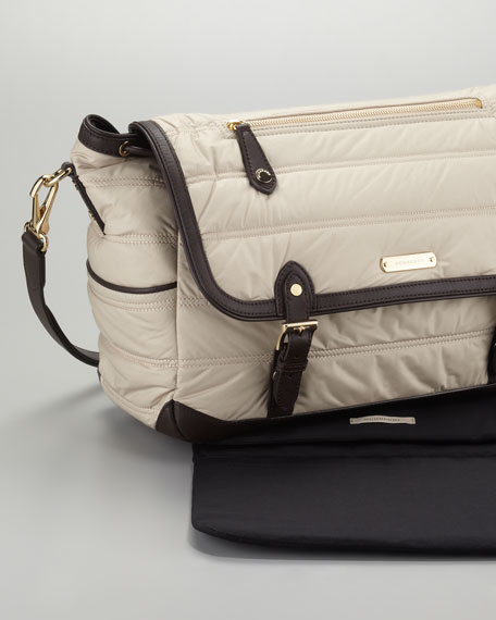 Messenger Diaper Bag, Trench