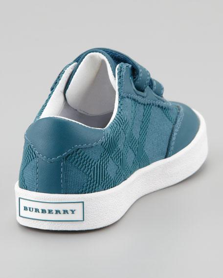 Tonal Check Sneaker, Kids Sizes