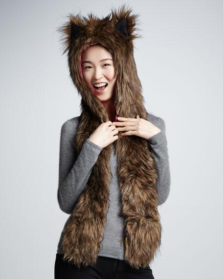 NM + Target Girls' Faux-Fur Hat