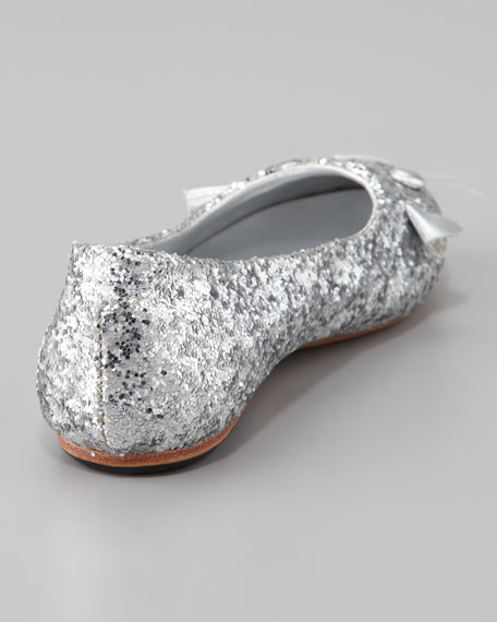 Glitter Mouse Ballerina Shoe