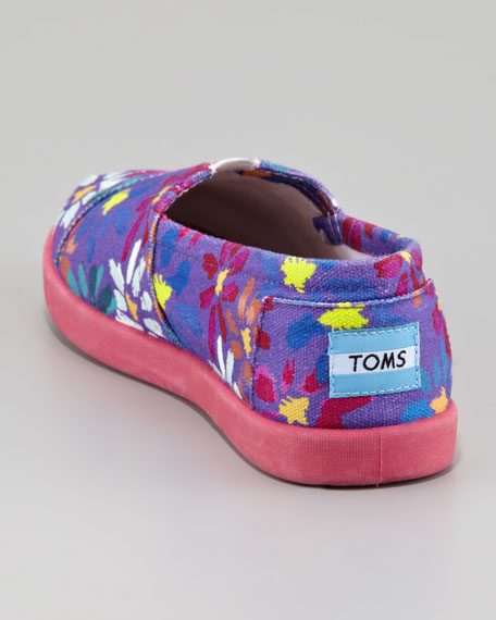 Daisy Print Slip-On, Youth