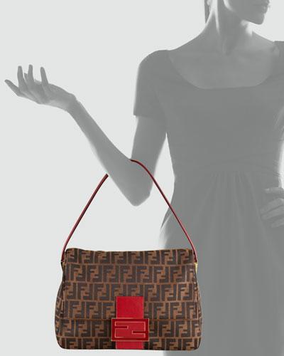 Fendi Zucca Borsa Mamma Shoulder Bag 51