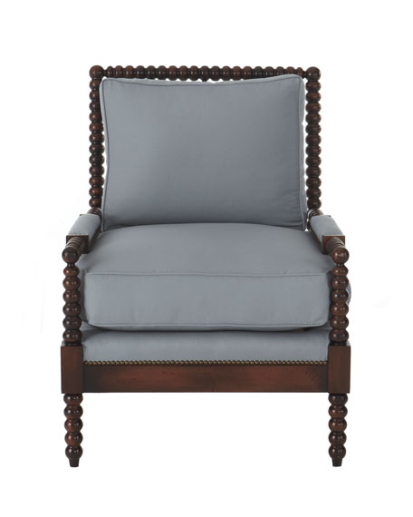 Ellsworth Neutral Spindle-Back Chair