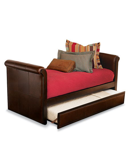 Ethan Leather Daybed