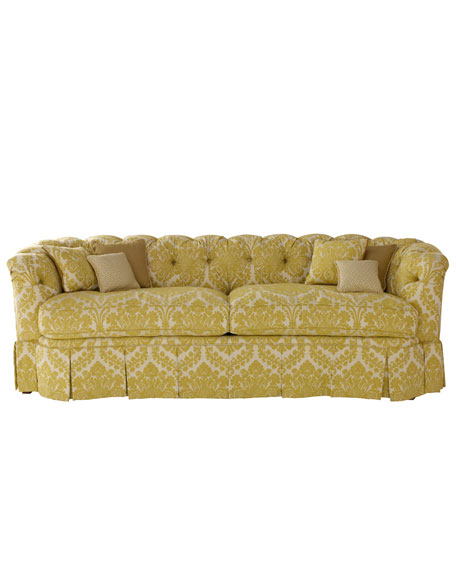 """""""Lily"""" Tufted Sofa"""