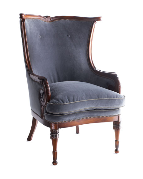 Meadow Blues Chair