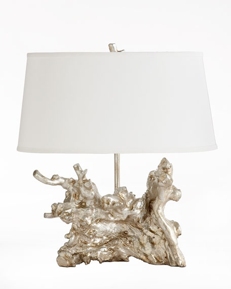 """""""Silver Root"""" Table Lamp"""