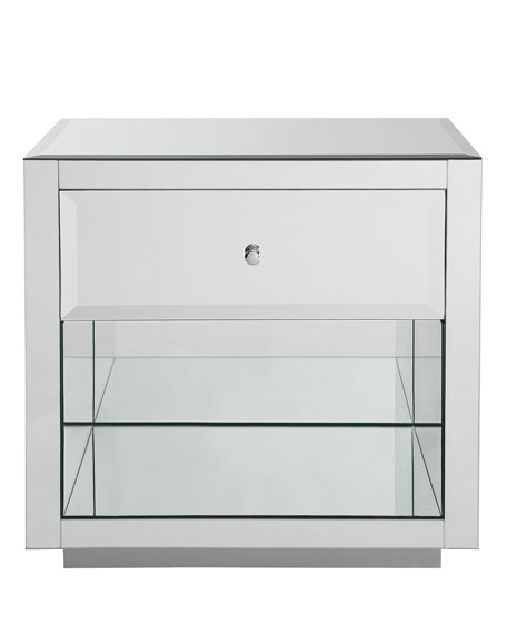 Hannah Mirrored Side Table