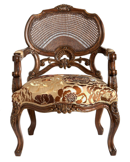 """Gold Blossoms"" Chair"