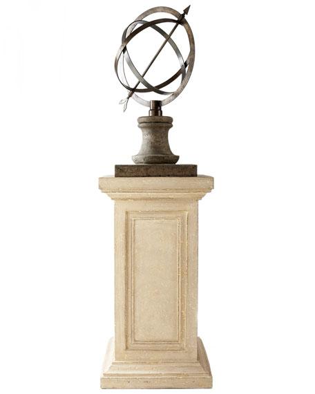 Armillary Sphere on Pedestal