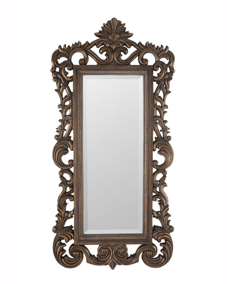 Baroque Scroll Mirror