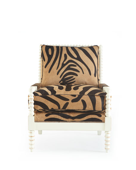 """Fallon"" Hairhide Chair"