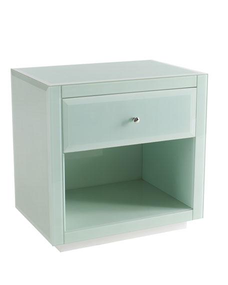 """Ocean Glass"" Side Table"
