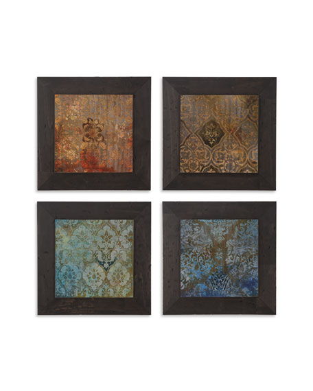 "Four Global ""Suzani"" Prints"