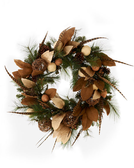 """Country Estate"" Christmas Wreath"