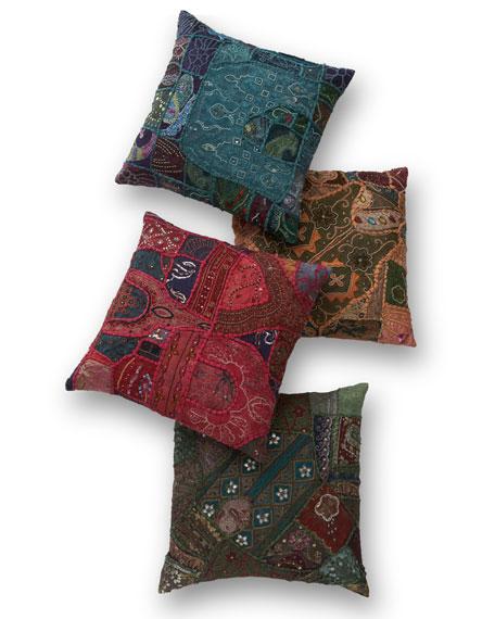 Vintage Sari Pillow